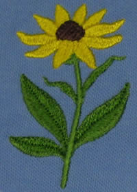 Custom Embroidery - Detailed Images Not a Problem for Sunshine Designs