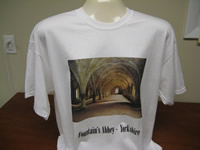 Digitally Printed Tee Shirt Direct to Garment - Multi Color and Photos are now possible with Direct to Garment Printing from Sunshine Designs