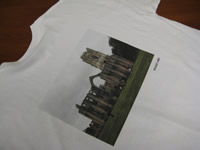 Digitally Printed Short Sleeve Tee - Direct to Garment Printing from Sunshine Designs